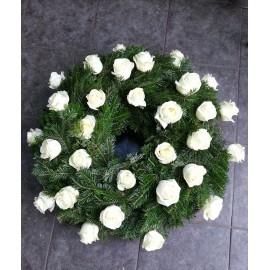 Coroana funerara rotunda