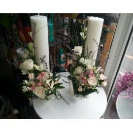 Lumanari scurte nunta frezii