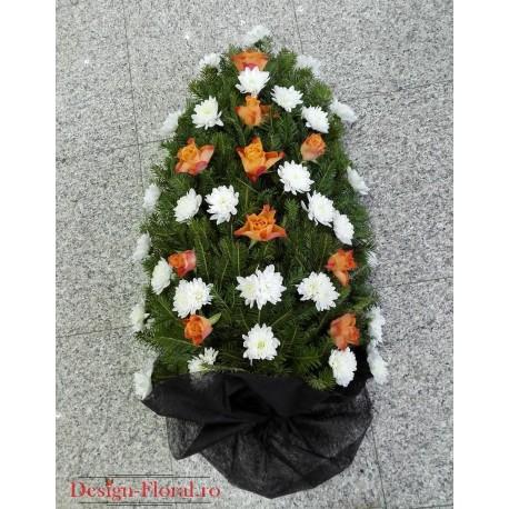 Jerba funerara trandafiri