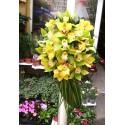 Lumanari cununie clasice orhidee Cymbidium