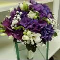 Buchet mireasa Hortensie si Floarea Miresei