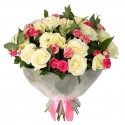 "Buchet "" Lovely Rose"""
