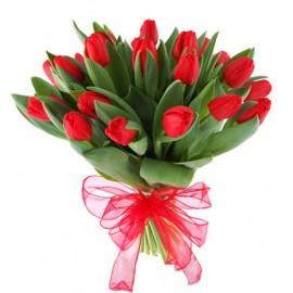 """Buchet """"Red Tulip"""""""