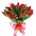 "Buchet ""Red Tulip"""