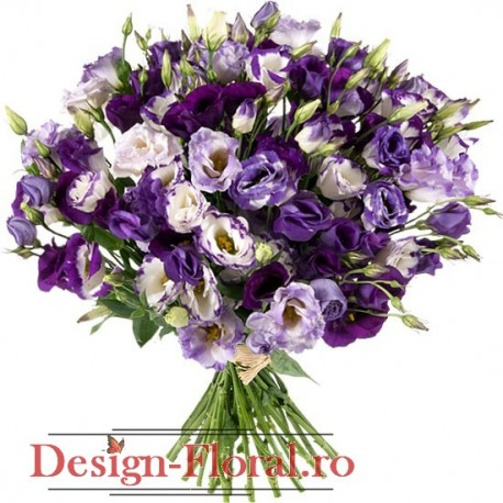 "Buchet "" Purple Power"""