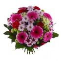 Buchet floral colorat