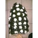 Jerba funerara crizanteme albe