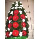 Jerba funerara gerbera si crizanteme