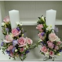 Lumanari nunta cilindrice