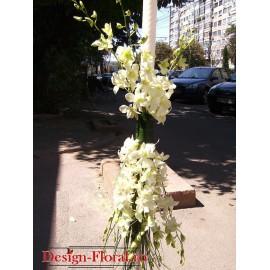 Lumanari de nunta curgatoare din orhidee Dendrobium