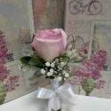 Cocarda naturala trandafir