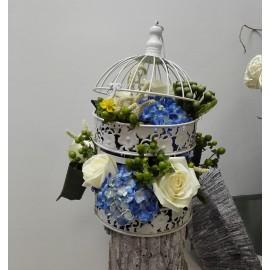 Aranjamet floral hortensie