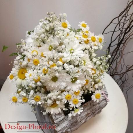 Buchet Cununie Flori De Camp Floraria Design Floral Florarie