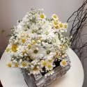 Buchet cununie flori de camp