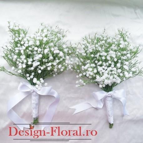 Buchet domnisoara de onoare floarea miresei