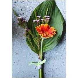 Martisor floral gerbera