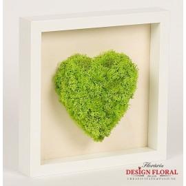"""Tablou cu licheni stabilizati """"Love"""""""