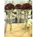 Aranjament floral vaza inalta