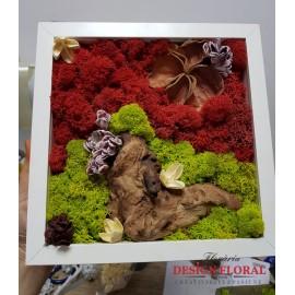 """Tablou cu licheni """"The Drift"""""""