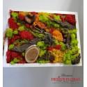 "Tablou cu licheni "" Colour in the woods"""