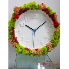 """Ceas cu licheni """" Preserved Time"""""""