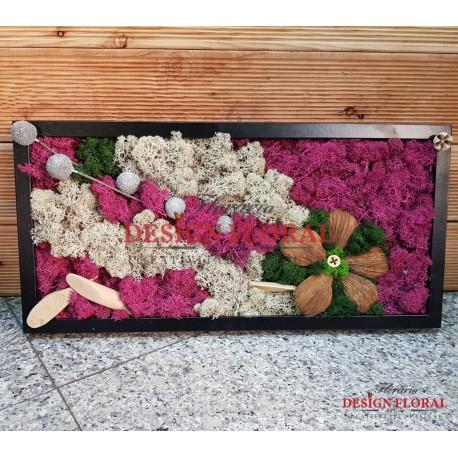 "Tablou cu licheni "" Flowers Power"""