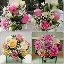 Pachet nunta trandafiri