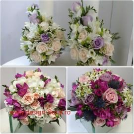 Pachet cununie mix floral