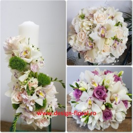 Pachet de nunta orhidee imperiala
