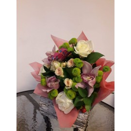 Buchet imperial orchid