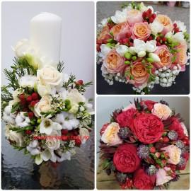Pachet nunta garden roses