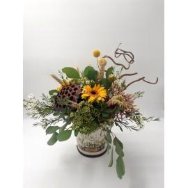 Aranjament floral Green Vibe