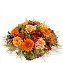 Cos floral cu tema rustica