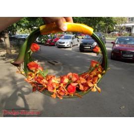 Buchet mireasa orhidee Mokara