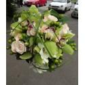 Buchet mireasa orhidee Cymbidium