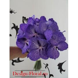 Buchet mireasa orhidee Vanda