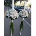 Lumanari nunta rotund orhidee Cymbidium