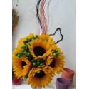 Buchet mireasa Floarea Soarelui