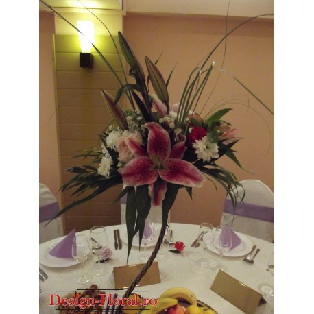 Aranjamente florale crini
